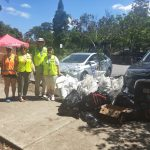 Big Clean Up around the lakes nets great litter results!